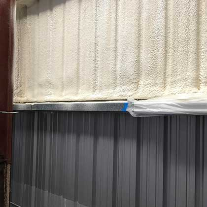 Spray Foam Insulation example in Austin, Tx
